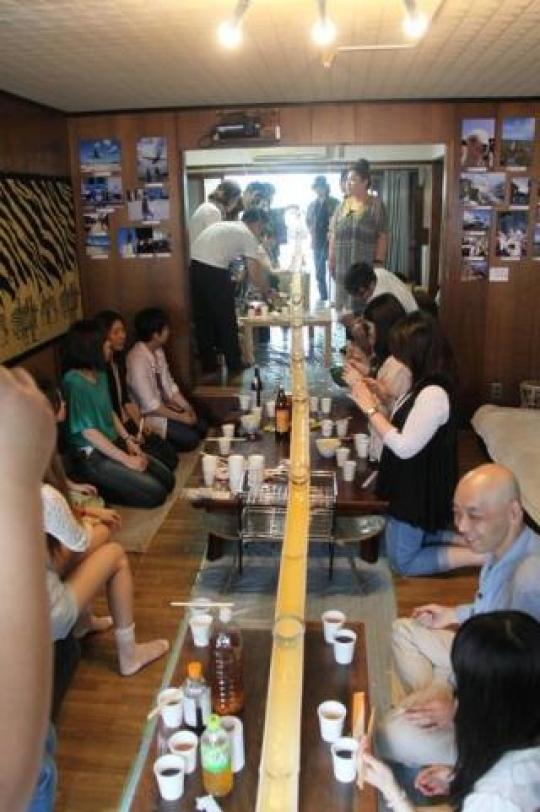 キッチン - recruiting foreigner in kyoto!} - ルームシェアルームメイト