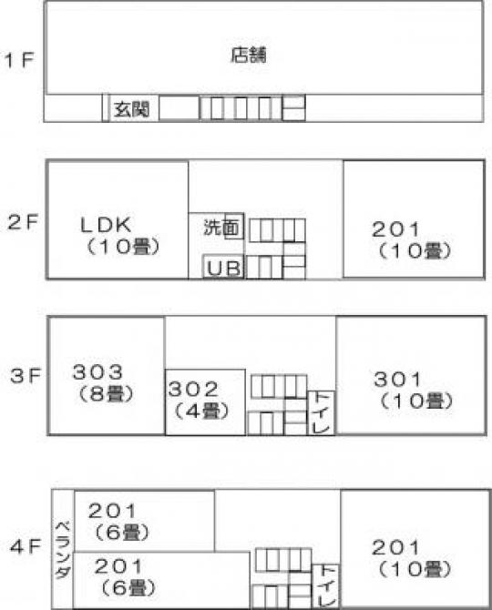 間取り図 - 女性専用シェアハウス「アルカディア」open!!} - ルームシェアルームメイト