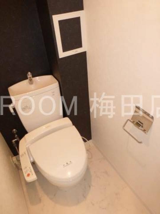 トイレ - セキュリティーばっちり★しかも…綺麗な一室(⋈◍>◡<◍)。✧♡ 1Kの25.42㎡です!!} - ルームシェアルームメイト