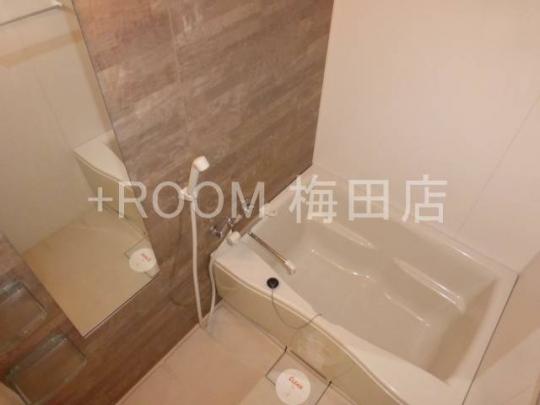 風呂 - セキュリティーばっちり★しかも…綺麗な一室(⋈◍>◡<◍)。✧♡ 1Kの25.42㎡です!!} - ルームシェアルームメイト