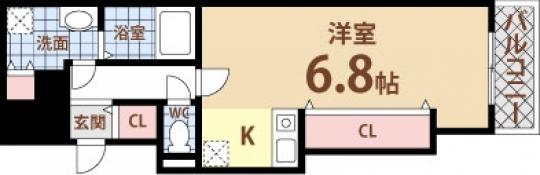 間取り図 - 女子必見☆オシャレなキッチンで胃袋ガッツリ鷲掴み☆} - ルームシェアルームメイト