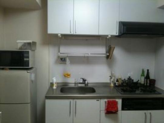 キッチン - 2名で入居も可【中野駅2分】1DKマンションお貸します。} - ルームシェアルームメイト