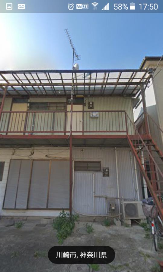 建物 - 好立地、平間駅まで徒歩10分、家賃も安いアパート、} - ルームシェアルームメイト