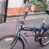 折りたたみ自転車あげます 本体 の画像
