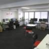 港区のデザインオフィスを間貸しします。 OAフロア の画像