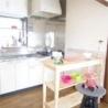 庭付き一ペット可の一戸建て キッチン の画像