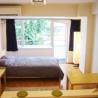 brand new apartment in shinjuku リビング の画像