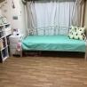 【人気】東急東横線 都立大学駅 徒歩2分 9月下旬〜3ヶ月1LDK+広いルーフバルコニー ベッド の画像