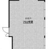 博多駅前4丁目 約42㎡ お一人でもOK 空きデスク4つ ※SEの方必見‼ 間取り図 の画像