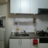 2名で入居も可【中野駅2分】1DKマンションお貸します。 キッチン の画像