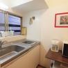 北大塚シェアハウス キッチン の画像