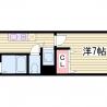 三ノ宮駅まで徒歩8分でこの賃料・・・私のおすすめです^^ 間取り図 の画像